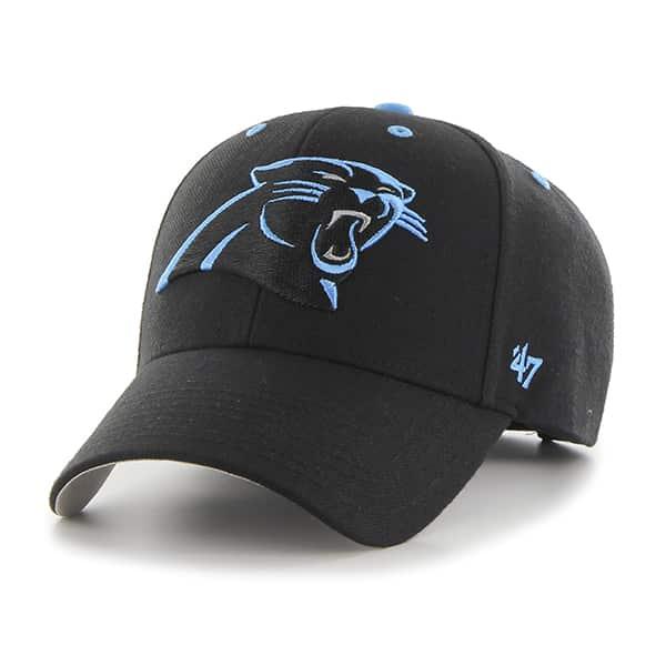 Carolina Panthers Audible MVP Black 47 Brand Adjustable Hat