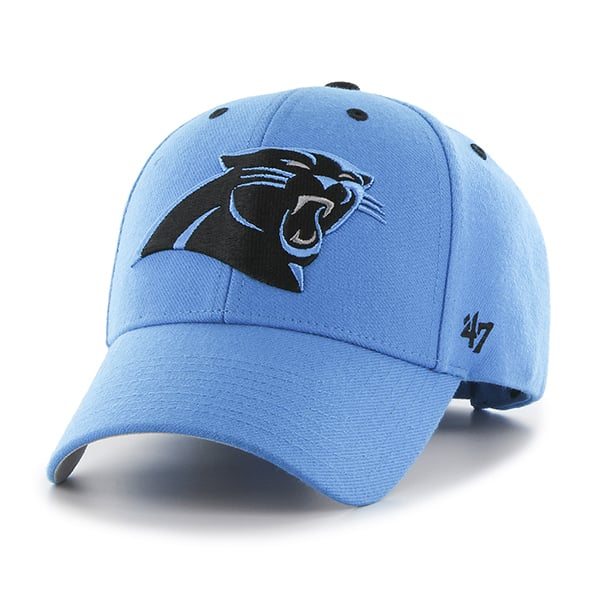 Carolina Panthers Audible MVP Glacier Blue 47 Brand Adjustable Hat