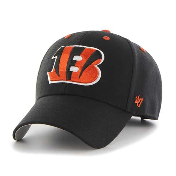 Cincinnati Bengals Audible MVP Black 47 Brand Adjustable Hat