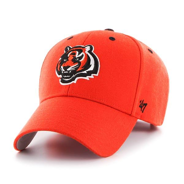 Cincinnati Bengals Audible MVP Orange 47 Brand Adjustable Hat