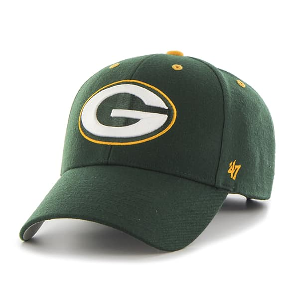 Green Bay Packers Audible MVP Dark Green 47 Brand Adjustable Hat