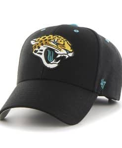 Jacksonville Jaguars Audible MVP Black 47 Brand Adjustable Hat