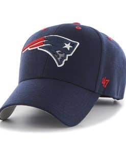 New England Patriots Audible MVP Light Navy 47 Brand Adjustable Hat