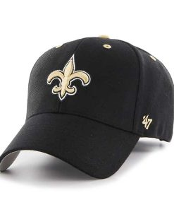 New Orleans Saints Audible MVP Black 47 Brand Adjustable Hat