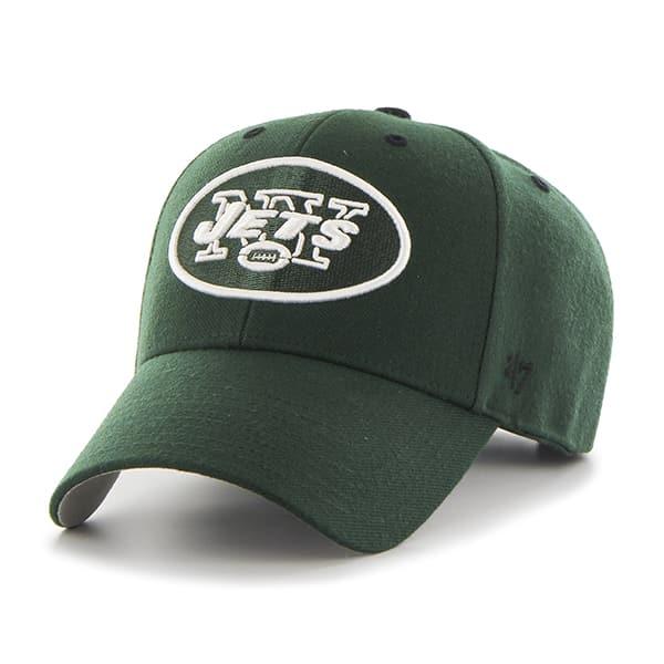 New York Jets Audible MVP Dark Green 47 Brand Adjustable Hat