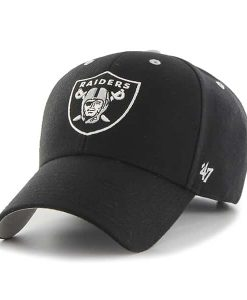 Oakland Raiders Audible MVP Black 47 Brand Adjustable Hat
