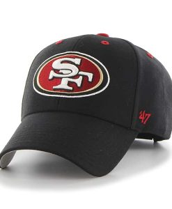 San Francisco 49Ers Audible MVP Black 47 Brand Adjustable Hat