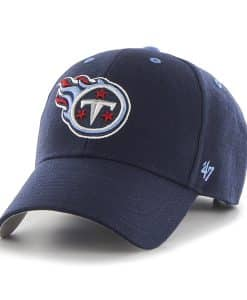 Tennessee Titans Audible MVP Light Navy 47 Brand Adjustable Hat