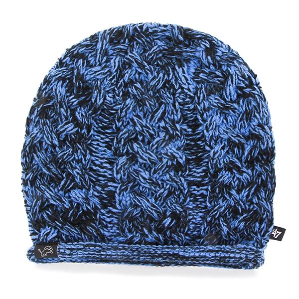 Detroit Lions April Beanie Black 47 Brand Womens Hat
