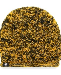 Pittsburgh Steelers April Beanie Black 47 Brand Womens Hat
