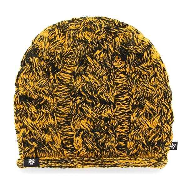 Pittsburgh Steelers April Beanie Black 47 Brand Womens Hat