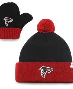 Atlanta Falcons Bam Bam Set Black 47 Brand INFANT Hat
