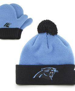 Carolina Panthers Bam Bam Set Glacier Blue 47 Brand INFANT Hat