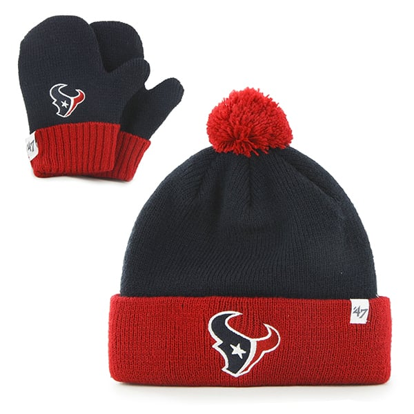 Houston Texans Bam Bam Set Navy 47 Brand INFANT Hat