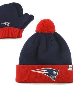 New England Patriots Bam Bam Set Light Navy 47 Brand INFANT Hat