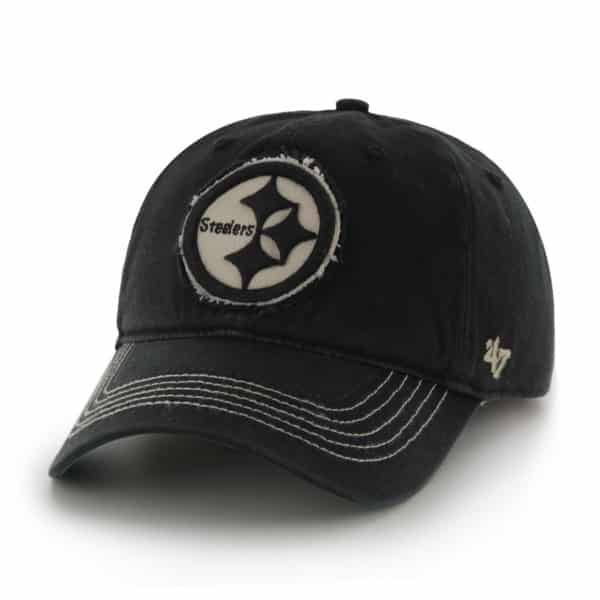 Pittsburgh Steelers Badger Black 47 Brand Stretch Fit Hat