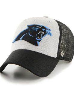 Carolina Panthers Belmont Clean Up Black 47 Brand Adjustable Hat