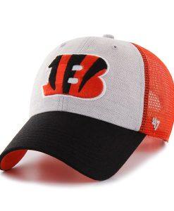 Cincinnati Bengals Belmont Clean Up Orange 47 Brand Adjustable Hat