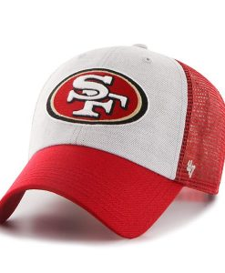 San Francisco 49Ers Belmont Clean Up Red 47 Brand Adjustable Hat