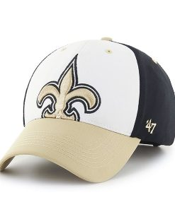 New Orleans Saints Big Show MVP Black 47 Brand Adjustable Hat