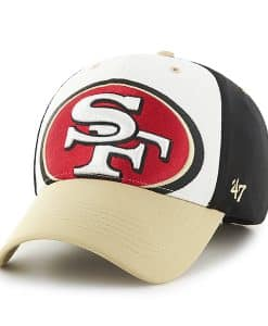 San Francisco 49Ers Big Show MVP Black 47 Brand Adjustable Hat