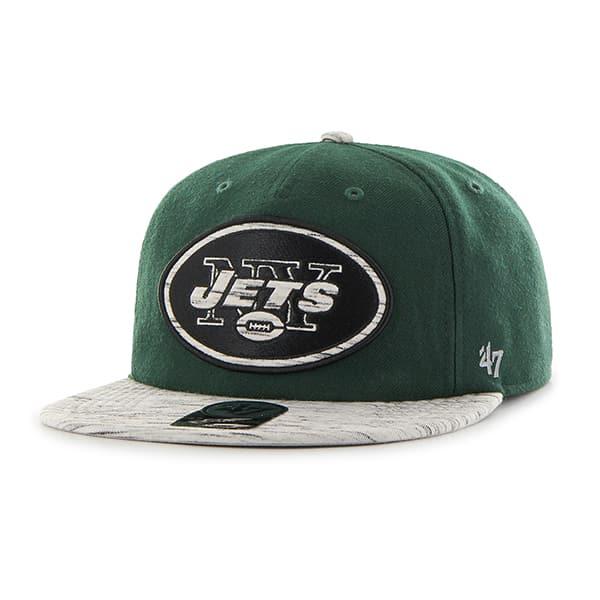 New York Jets Bluster Captain Rf Dark Green 47 Brand Adjustable Hat