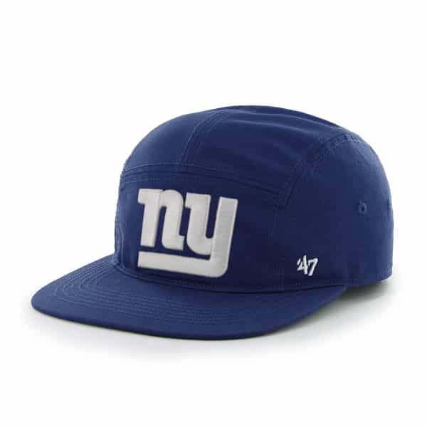 bf97fd71c52 New York Giants Bergen 5 Panel Royal 47 Brand Adjustable Hat - Detroit Game  Gear