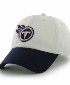 Tennessee Titans Brooksby Off White 47 Brand Adjustable Hat