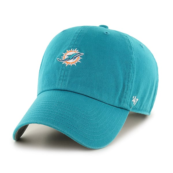 Miami Dolphins Base Runner Clean Up Neptune 47 Brand Adjustable Hat