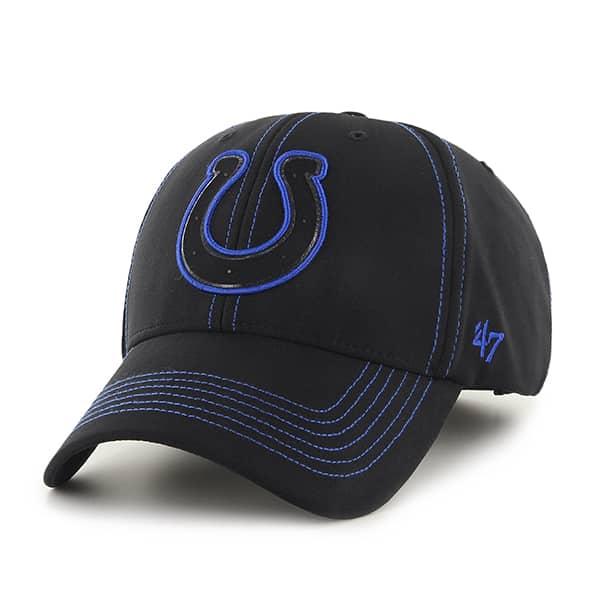 Indianapolis Colts Battalion MVP Black 47 Brand Adjustable Hat