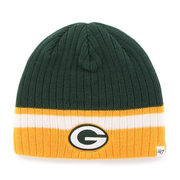 3c103dc640e Green Bay Packers Buddy Beanie Dark Green 47 Brand KID Hat - Detroit Game  Gear