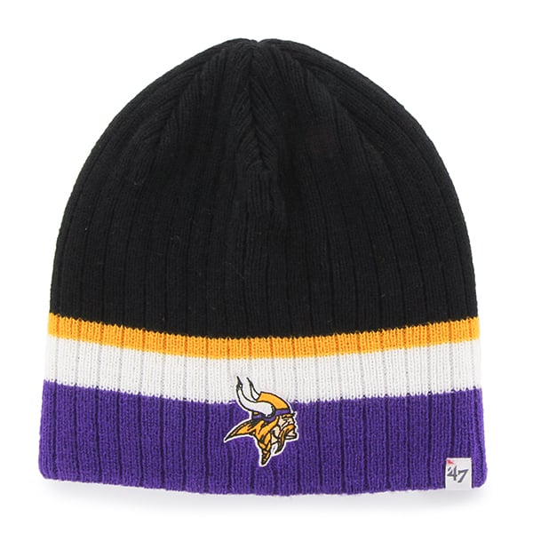 Minnesota Vikings Buddy Beanie Black 47 Brand KID Hat