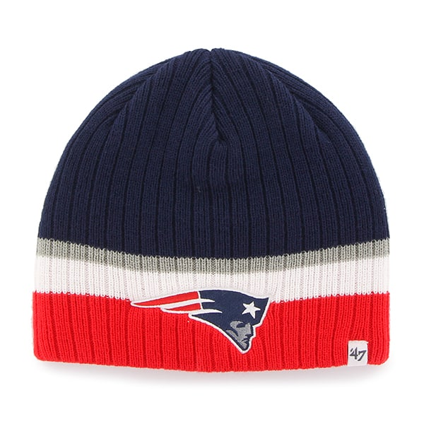New England Patriots Buddy Beanie Light Navy 47 Brand YOUTH Hat