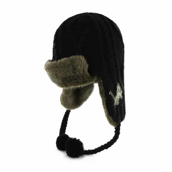 Detroit Lions Bunny Slope Black 47 Brand Womens Hat