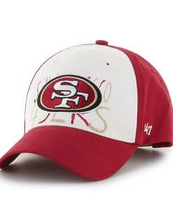 San Francisco 49Ers Clifton MVP Red 47 Brand TODDLER Hat