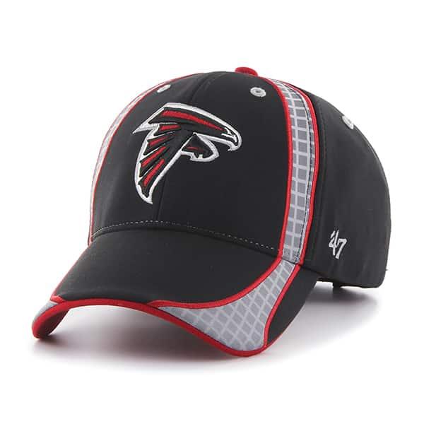 Atlanta Falcons Clu Black 47 Brand Adjustable Hat