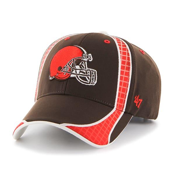 Cleveland Browns Clu Brown 47 Brand Adjustable Hat