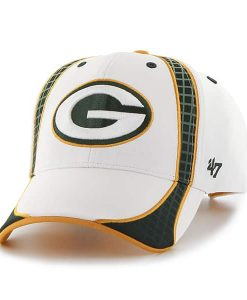 Green Bay Packers Clu White 47 Brand Adjustable Hat