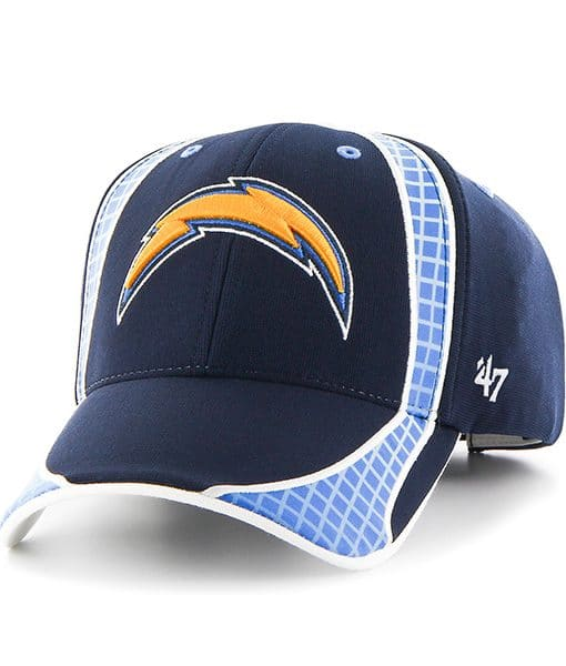 San Diego Chargers Caps: San Diego Chargers Clu Light Navy 47 Brand Adjustable Hat