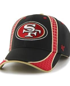 San Francisco 49Ers Clu Black 47 Brand Adjustable Hat