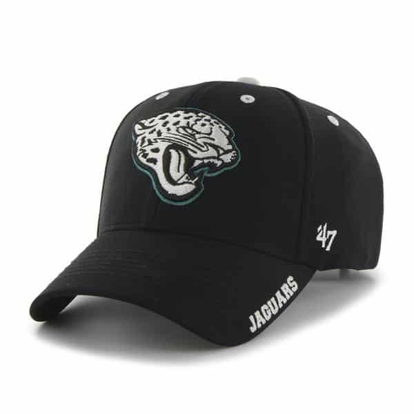 Jacksonville Jaguars Condenser MVP Black 47 Brand Adjustable Hat