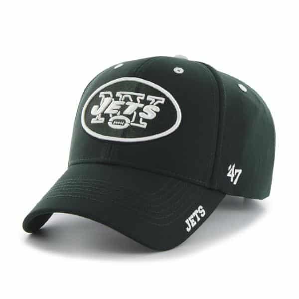 New York Jets Condenser MVP Dark Green 47 Brand Adjustable Hat