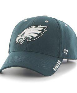 Philadelphia Eagles Condenser MVP Pacific Green 47 Brand Adjustable Hat