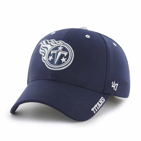 Tennessee Titans Condenser MVP Light Navy 47 Brand Adjustable Hat