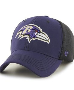 Baltimore Ravens Cooler MVP Purple 47 Brand Adjustable Hat
