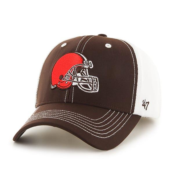 Cleveland Browns Cooler MVP Brown 47 Brand Adjustable Hat