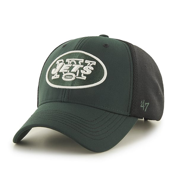 New York Jets Cooler MVP Dark Green 47 Brand Adjustable Hat