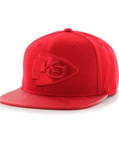 Kansas City Chiefs Counterstrike '47 Captain Red 47 Brand Adjustable Hat