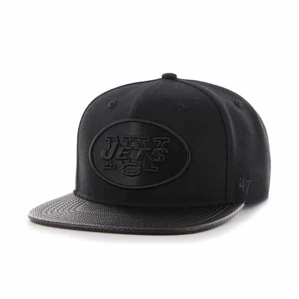 New York Jets Counterstrike '47 Captain Black 47 Brand Adjustable Hat