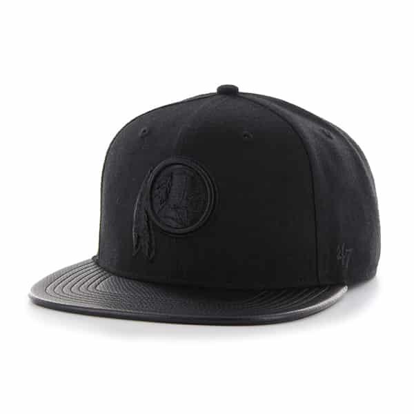 Washington Redskins Counterstrike  47 Captain Black 47 Brand Adjustable Hat 16a305d24